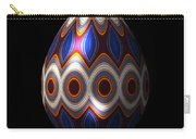 Shimmering Christmas Ornament Egg Carry-all Pouch