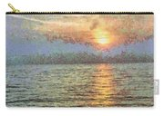 Shimmering Light Over The Water Carry-all Pouch