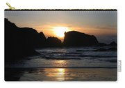 Shimmering Sands Sunset Carry-all Pouch