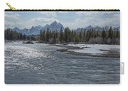 Shimmering Snake River And The Tetons Carry-all Pouch