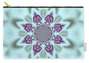 Shimmering Snowflake Carry-all Pouch