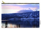 Shimmering Wood Lake Carry-all Pouch