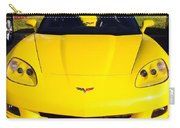Shiny Yellow Corvette Convertible  Carry-all Pouch