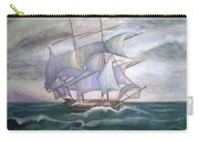 Ship Out To Sea Carry-all Pouch
