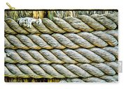 Ship Rope Anchored Carry-all Pouch