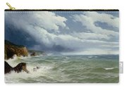 Shipping In Open Seas Carry-all Pouch by David James
