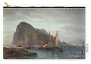 Shipping Off Gibraltar, 1880 Carry-all Pouch