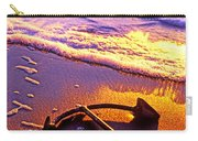 Ships Anchor On Beach Carry-all Pouch
