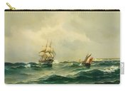 Ships At Sea Carry-all Pouch
