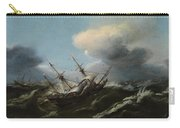 Ships In A Storm Carry-all Pouch