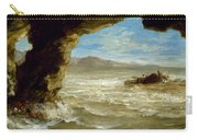 Shipwreck On The Coast  Carry-all Pouch
