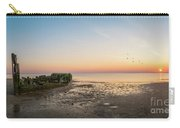 Shipwreck Sunset Panorama  Carry-all Pouch