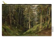 Shishkin, Ivan 1832-1898 Forest Clearing Carry-all Pouch
