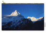Shivling And Meru, Uttarakhand, India Carry-all Pouch
