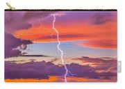 Shocking Pinks Sunset Carry-all Pouch