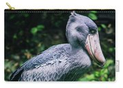 Shoebill Stork Side Portrait Carry-all Pouch
