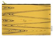 Shoestring Eucalyptus Abstract Carry-all Pouch