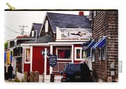 Shopping In Perkins Cove Maine Carry-all Pouch