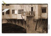 Shops On The Ponte Vecchio Carry-all Pouch