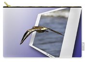 Shore Bird In Flight Carry-all Pouch