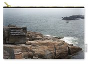 Shoreline And Shipwreck - Portland, Maine Carry-all Pouch