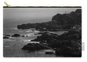 Shoreline - Portland, Maine Bw Carry-all Pouch