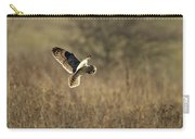Short-eared Owl About To Strike Carry-all Pouch