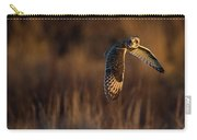 Short-eared Owl Banking Carry-all Pouch