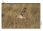 Short-eared Owl With Vole Carry-all Pouch