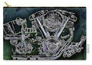 Harley - Davidson Shovelhead Engine Carry-all Pouch by Al Matra