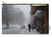 Shoveling Snow Carry-all Pouch