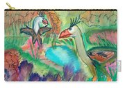 Showdown At The Watering Hole Carry-all Pouch
