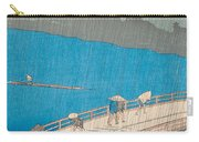 Shower Over Ohashi Bridge Carry-all Pouch