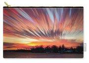 Shredded Sunset Carry-all Pouch by Matt Molloy