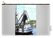 Shrimp Boat Carry-all Pouch by Annette Allman