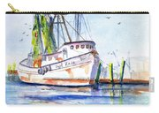 Shrimp Boat Gulf Fishing Carry-all Pouch
