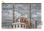 Shrimper In Eastern North Carolina Carry-all Pouch