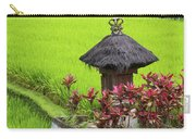 Shrine In Rice Field Carry-all Pouch