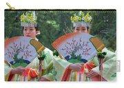 Shrine Maidens From Tsurugaoka Hachimangu Shrine Carry-all Pouch