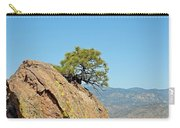 Shrub And Rock At Canon City Carry-all Pouch
