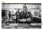 Shucking Oysters 2 - French Quarter- Bw Carry-all Pouch