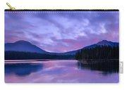 Shunda Lake At Dawn Carry-all Pouch