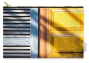 Shutter And Ornate Wall Carry-all Pouch