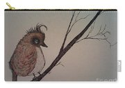 Shy Bird Carry-all Pouch by Ginny Youngblood