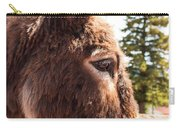 Shy Burro In Cripple Creek Carry-all Pouch