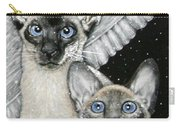 Siamese Cats Carry-all Pouch