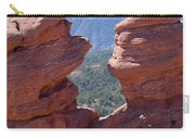 Siamese Twins And Pikes Peak Carry-all Pouch