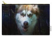 Siberian Husky Carry-all Pouch by Brian Roscorla