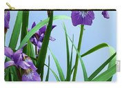Siberian Iris Carry-all Pouch