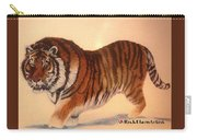 Siberian Snow Tiger Carry-all Pouch